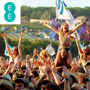 Win a pair of Glastonbury festival tickets with EE!