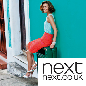 Win one of 10 £250 shopping sprees at Next
