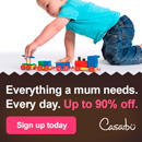 &#163;10 off your first shop at Casabu.com