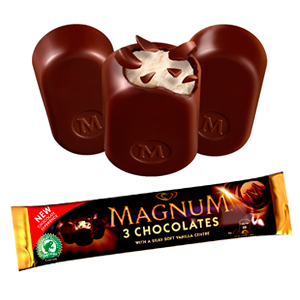 Win a year's supply of Magnum chocolates!