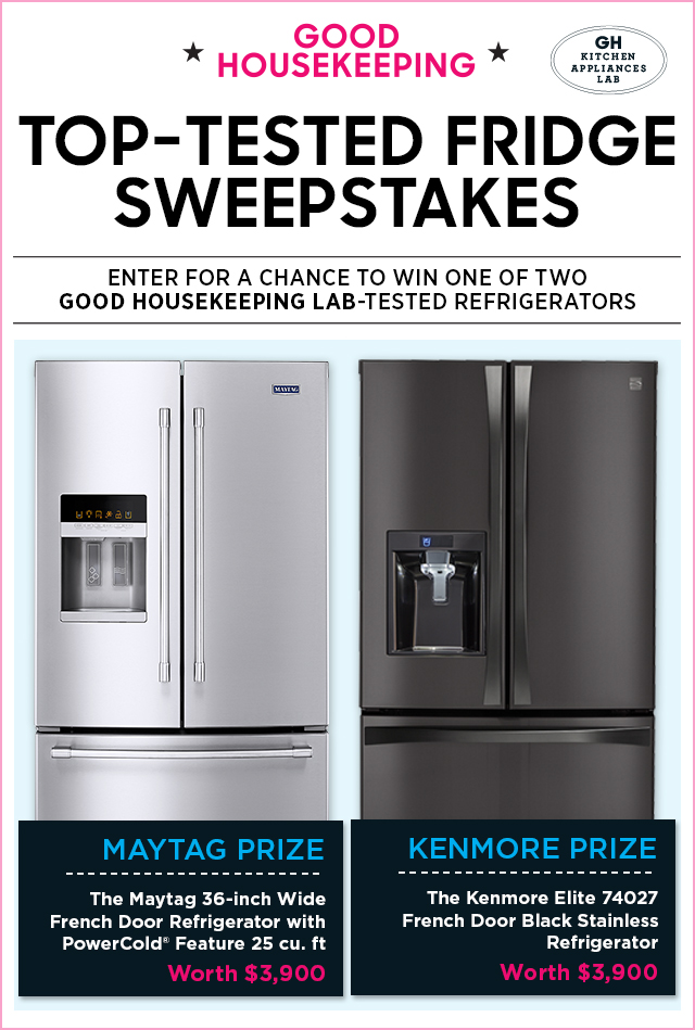 good housekeeping kitchens good housekeeping top tested fridge sweepstakes