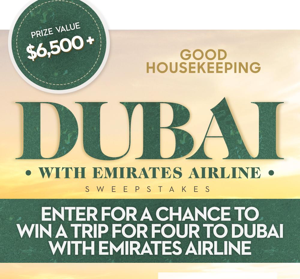 Good Housekeeping Dubai Trip Sweepstakes