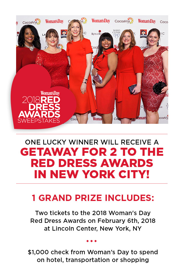 Womens day magazine sweepstakes and contests